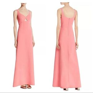Jill Jill Stuart Women Gown with Keyhole Hibiscus